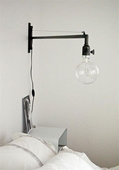 swing arm wall lights swing arm wall light bright spark pinterest