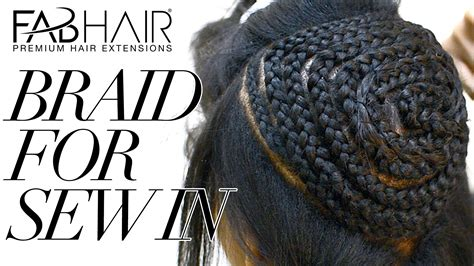 the best way to sew a hair weave how to braid for sew in weave virgin brazilian hair