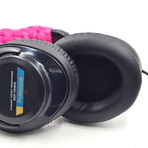 Headphone Sony Mdr 7509hd Upgrade Cushion Ear Pad For Sony Mdr 7509hd V600 V900 Hd Z600 Dj Headphones Ebay