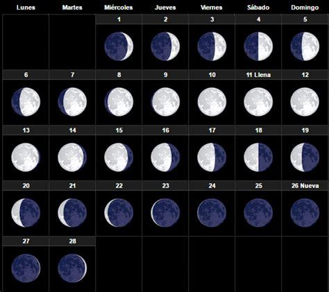 Calendario Lunar Setembro 2017 El Calendario Lunar Julio 2017 Fases De La Para Dar