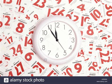 Time Date Calendar Time Date Calendar Appointment Busy Conceptual Image Using