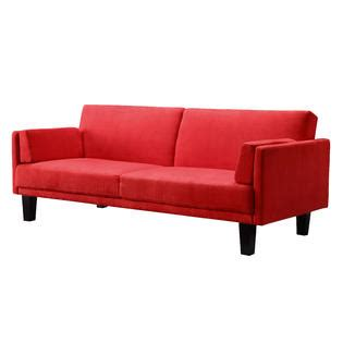 red futons dorel home furnishings metro red convertible futon home