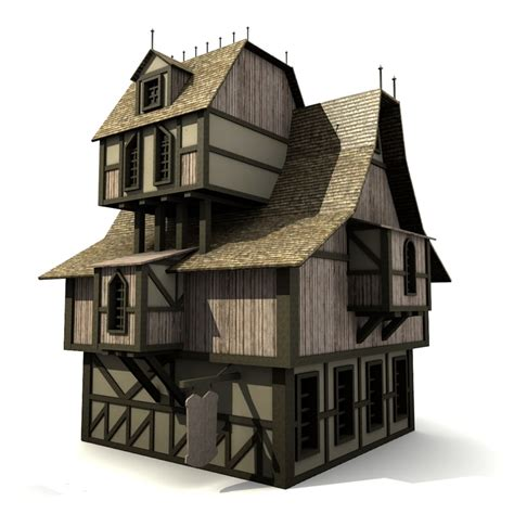 medieval houses medieval house x free