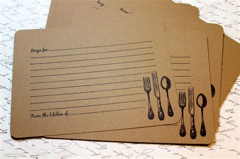 antique recipe card printable baker s breakfast cocoa knick of