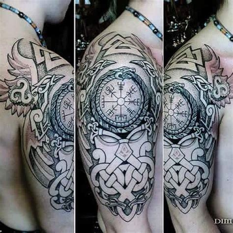25 best ideas about nordic tattoo on pinterest viking