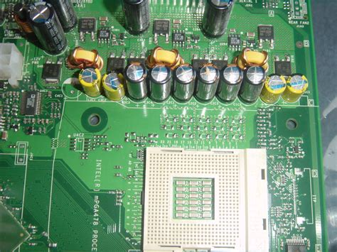 dell 400sc motherboard capacitor problems
