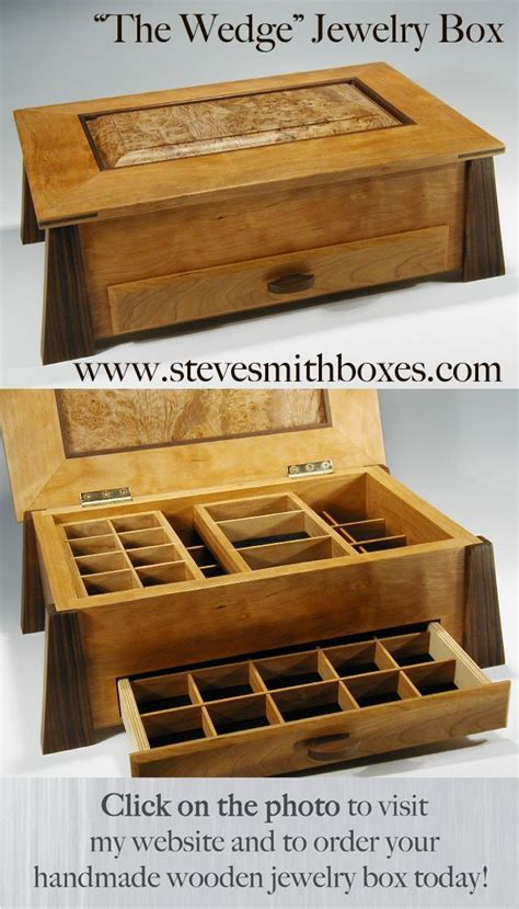 Wooden Jewellery Boxes Handmade - 162 best images about wood boxes on