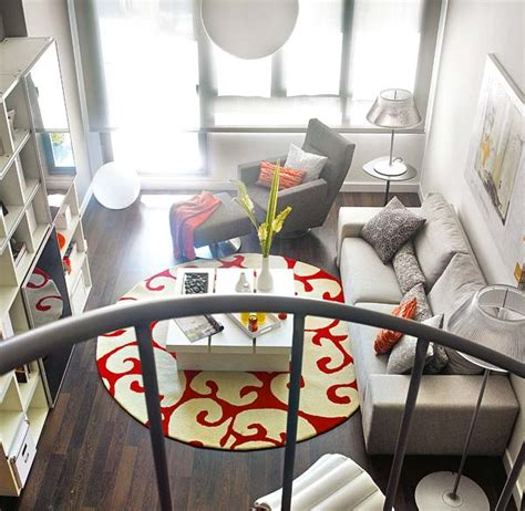 small loft ideas small loft featuring bright vividly colored spaces