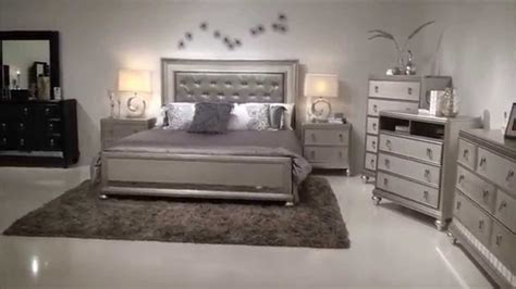 bobs furniture silver bedroom set bedroom set home furniture