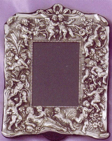 8 Advantages Of Vintage Style by Sterling Silver Cherubs Antique Style Picture Frame