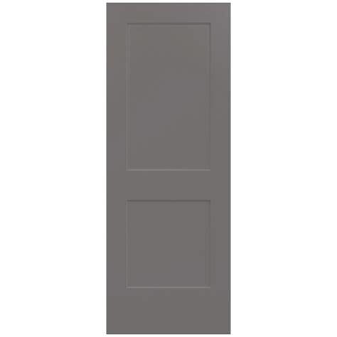 masonite 30 in x 80 in solidoor smooth 2 panel solid masonite 30 in x 80 in plantation smooth full louver