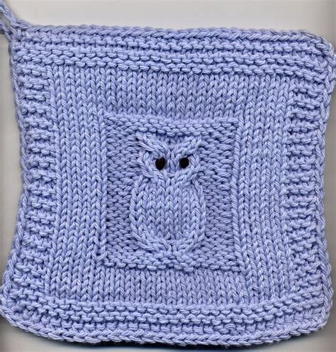 pattern holder knitting knitting pattern owl pot holder crochet and knitting