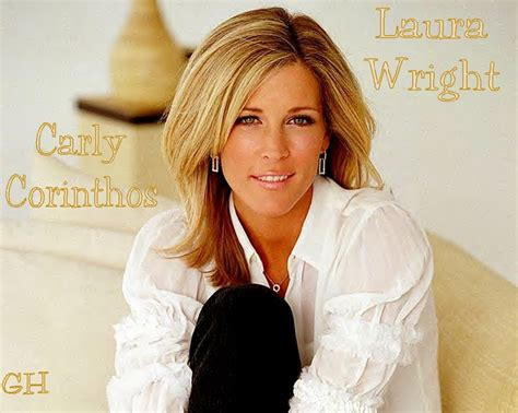 carly on general hospital hair laura wright as carly corinthos general hospital