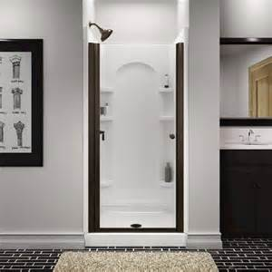 glass shower doors menards sterling finesse frameless hinge shower door at menards 174