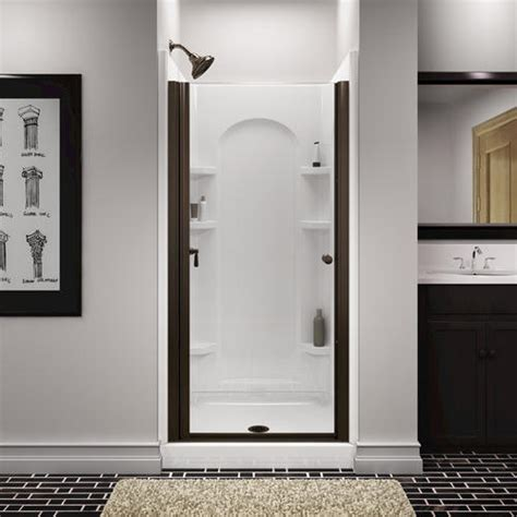 Menards Glass Shower Doors Sterling Finesse Frameless Hinge Shower Door At Menards 174
