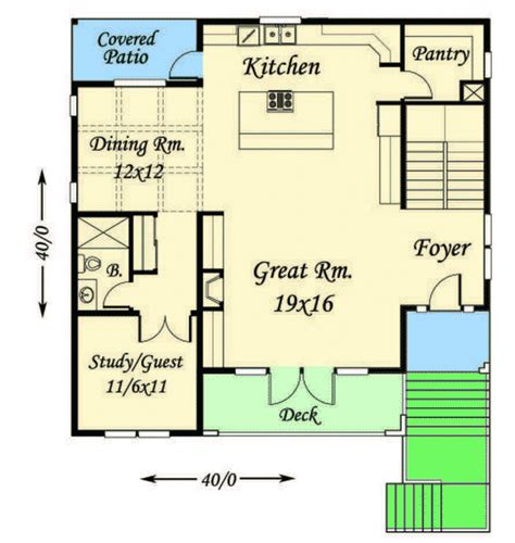 house plans for front sloping lots modern house plan for front sloping lot 85102ms 2nd