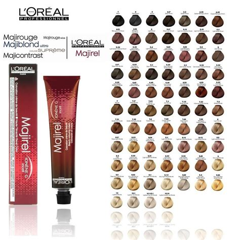 loreal professional majirel mix hair permanent color 50ml 1 69oz ebay l oreal professional majirel majirouge majiblonde hair colour all colours 50ml ebay