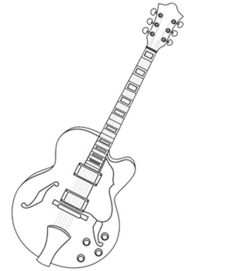 imagenes de guitarras a blanco y negro dibujos de guitarras dibujos