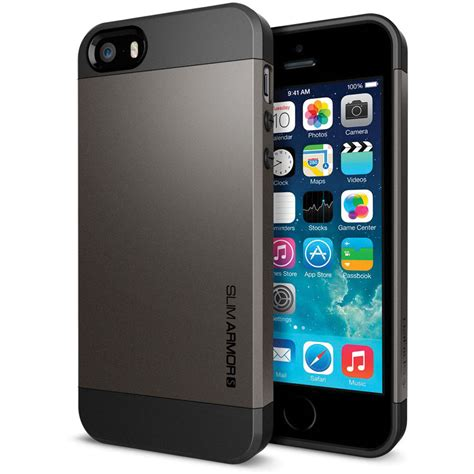 iphone 5 b spigen slim armor for iphone 5 5s sgp10475 b h photo