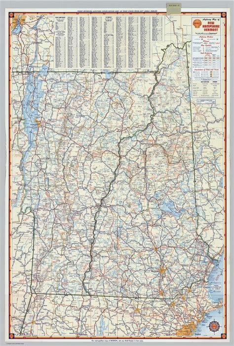 printable new hshire road map map of new hshire and vermont world map 07