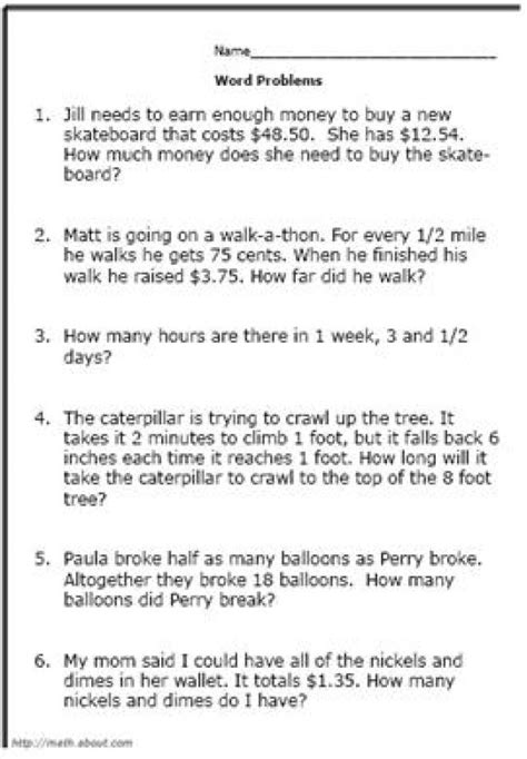 Math Problems For 3rd Grade Worksheet by Boost Your 3rd Grader S Math Skills With These Printable