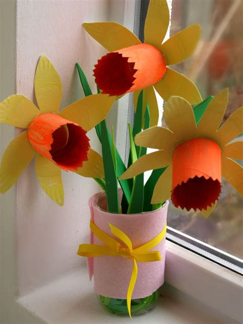 daffodil craft for paper plate daffodils