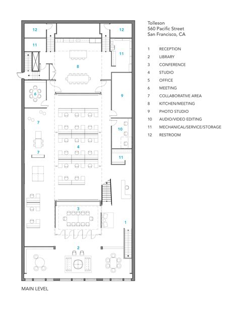gallery floor plan gallery of tolleson offices huntsman architectural group