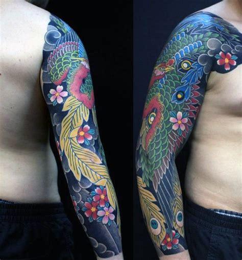 traditional phoenix tattoo 50 japanese designs for mythical ink