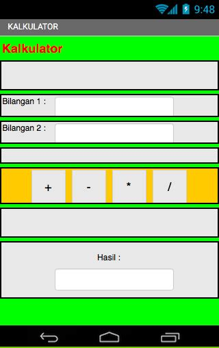membuat website berbasis android membuat aplikasi kalkulator sederhana berbasis android