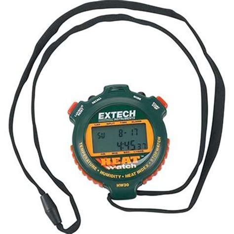 Extech Stopwatch Heat Index Hw30 heat sensor alarm heat sensor heat sensor