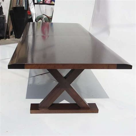 Table At Ten christian liaigre dining table with ten chairs at 1stdibs