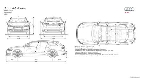 Audi A6 Size Dimensions by 2015 Audi A6 Avant Dimensions Hd Wallpaper 27