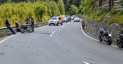 Unfall Motorrad Tirol by T 246 Dlicher Motorradunfall Bei Sch 246 Nberg Tirol Orf At
