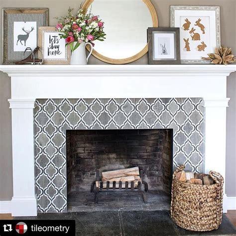 Decorative Fireplace Tile Ideas by Best 25 Arabesque Tile Ideas On Arabesque