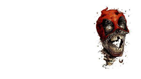 wallpaper zombies 3d wallpaper skull teeth head deadpool zombie desktop