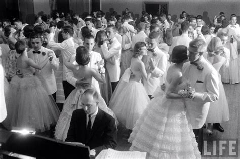 picture of 1950s prom tuxedo pictures of high school proms in the 1940s and 1950s
