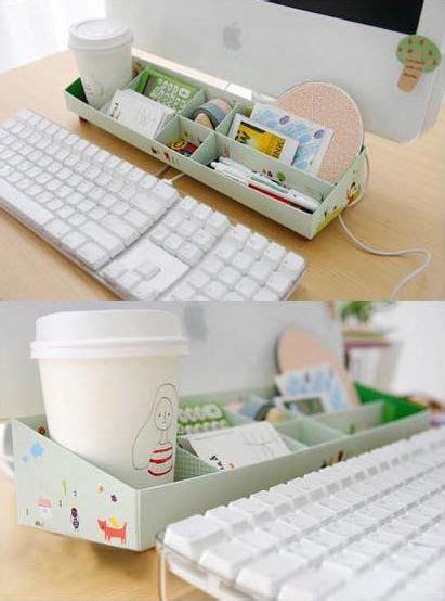 desk organization diy diy paper stationery makeup comestics pen desk organizer storage box ebay