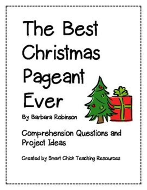 coloring pages for the best christmas pageant ever quot the best christmas pageant ever quot comp questions and