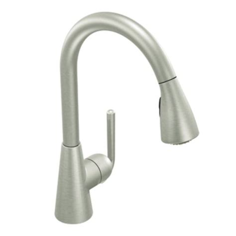 cheap moen kitchen faucets cheap price moen s71708csl ascent one handle high arc pull kitchen faucet classic