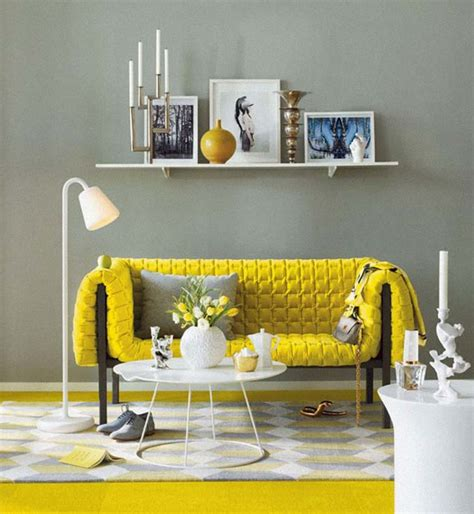 yellow and gray home decor yellow grey
