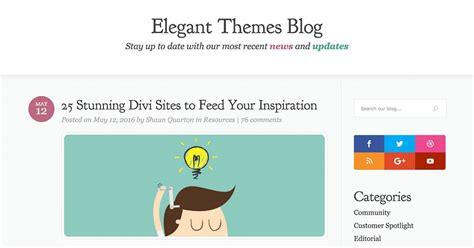 divi theme blog gallery best divi website exles my site featured
