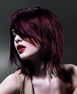 razor cut layered hair styles