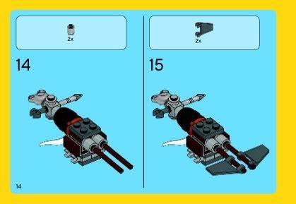 Lego 70800 The Lego Getaway Glider 1 lego getaway glider 70800 the lego
