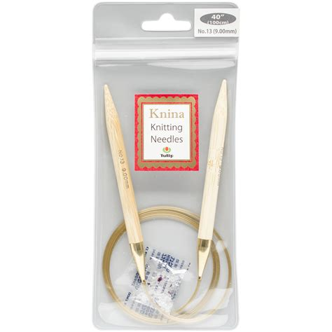 size 13 knitting needle patterns tulip knina knitting needles 40in size 13 9mm click to