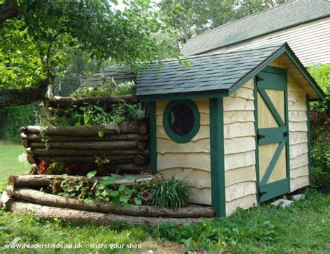 Hobbit Sheds hobbit shed unique from unity maine us owned by