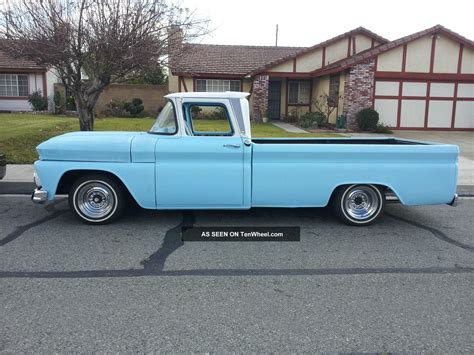 long bed chevrolet c10 long bed big window 1963