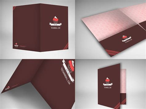 15 free presentation folder mockup design templates
