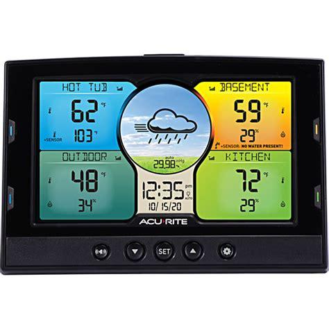 acurite color weather station acurite 06024m wireless color weather station acurite