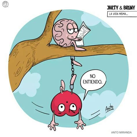 imagenes hola vida anto miranda coraz 243 n vs cerebro pinterest corazon vs