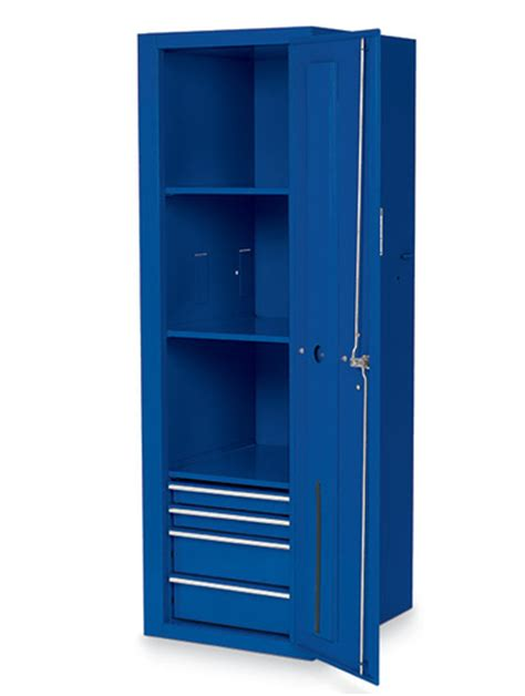 locker 4 drawers 3 shelves royal blue